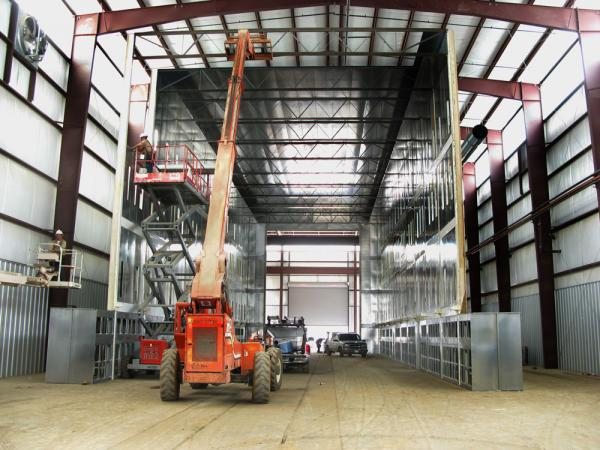 Milwuakee Custom Industrial Paint Booths - Il.