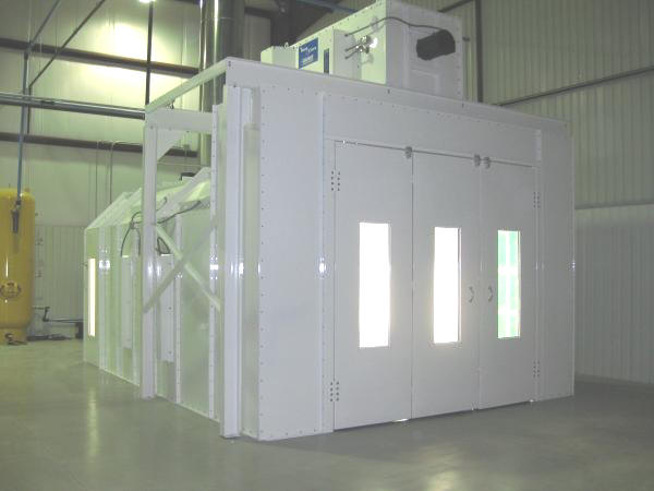 Milwuakee Furniture Paint Booths - Il.